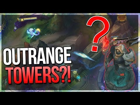 NEW KINDRED CAN OUTRANGE TOWERS?! - Kindred Rework - League of Legends