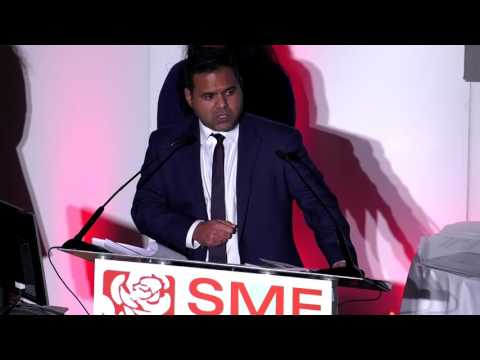 Deputy Mayor of London for Business, Rajesh Agrawal's Speech at the SME 4 Labour Gala 2016