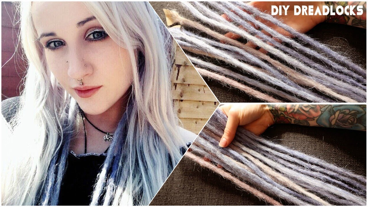 cc1defd8c60c44 How To Make Dreadlock Extensions! - YouTube