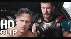 """Thor Ragnarok """"Strongest Avenger"""" Scene with Banner   Thor Ragnarok 2018"""