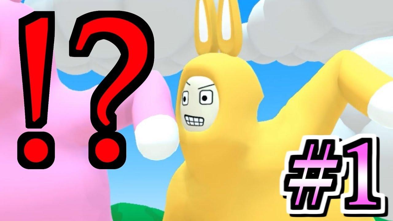 ヤバイうさぎのヤバイアクションゲームwww【Super Bunny Man】#1 ...