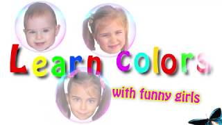 Учим цвета на английском языке с красками и Элиной