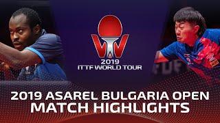 Aruna Quadri vs Zhao Zihao   2019 ITTF Bulgaria Open Highlights (1/2)