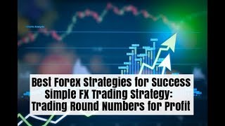 Forex Simple Profitable Trading Strategy - Trade Round Numbers for Profit