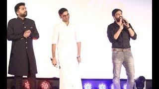 Santhanam Speech at Sakka Podu Podu Raja Audio Launch   STR   Simbu   Dhanush