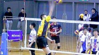 春高バレー男子オールスター スパイク練習! Volleyball Spike Boys Japan