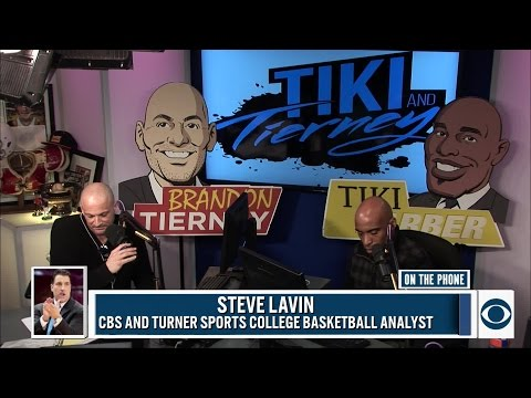 CBS and Turner Sports College Basketball Analyst Steve Lavin joins Tiki and BT