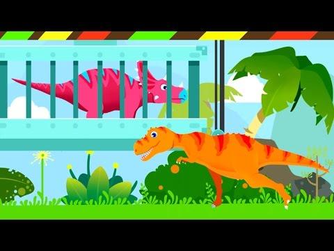 Jurassic Rescue: T Rex, Pterodactylus - Chasmosaurus - Pachycephalosaurus & Protoceratops   DCTE VN