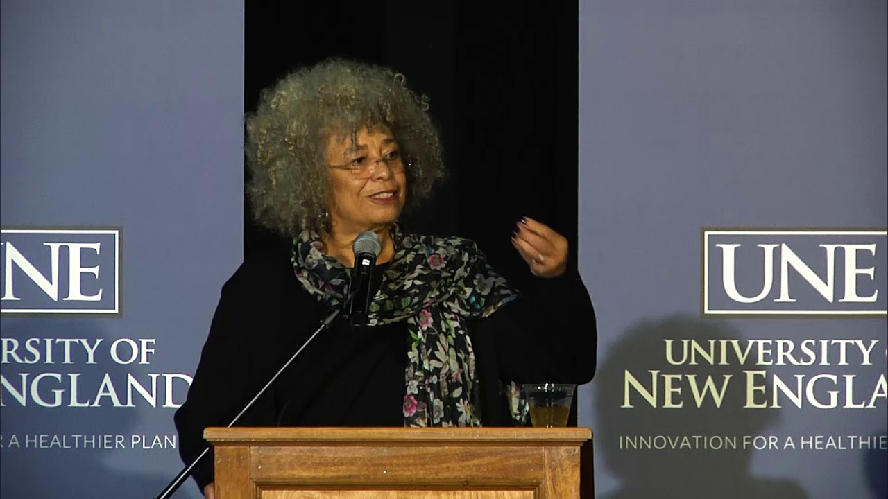 Highlights of Dr. Angela Davis' visit to University Of New England