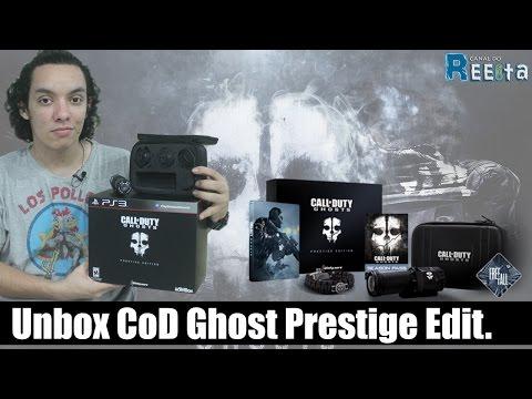 Unbox Call Of Duty: Ghost PRESTIGE EDITION + Review Da Câmera (Português-Brasil)