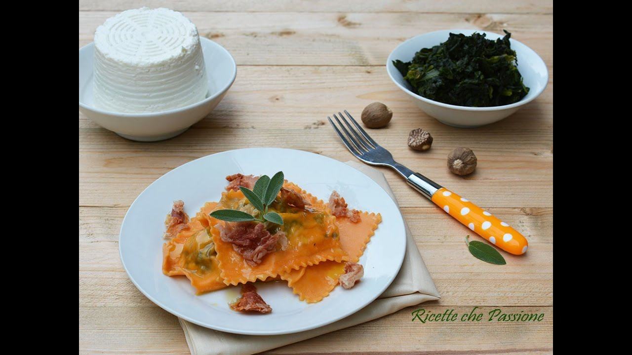Ravioli ricotta e spinaci fatti in casa - La Ricetta di ...