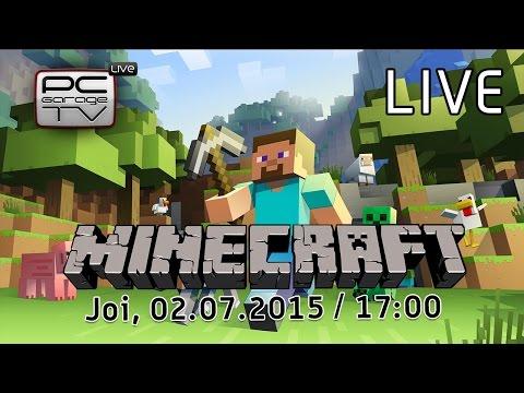 LIVE - Minecraft? :O