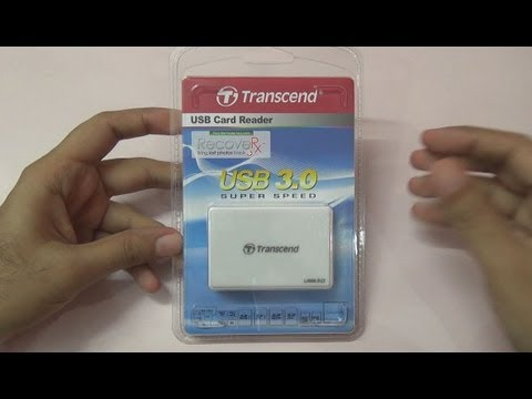 USB 3.0 Card Reader Transcend RDF8 Review