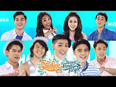 "ABS-CBN Summer Station ID 2017 ""Ikaw Ang Sunshine Ko, Isang Pamilya Tayo"" Lyric Video"
