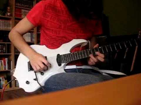Nightmare Lost In Blue Solo (Cover By Wolf)