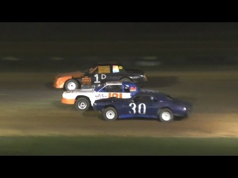 Pure Stock Feature | McKean County Raceway | 4-23-16