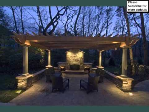 Pergola With Light  Pic Collection  Pergola Lighting