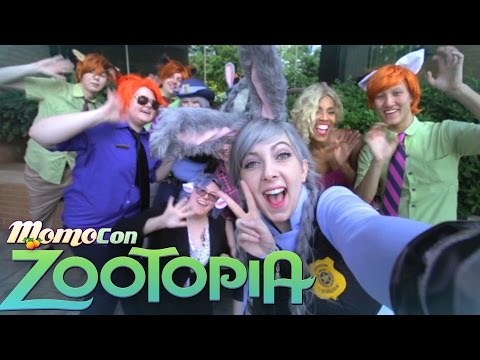 "Zootopia ""Try Everything  - Shakira"" Momocon 2016 Cosplay Music Video"
