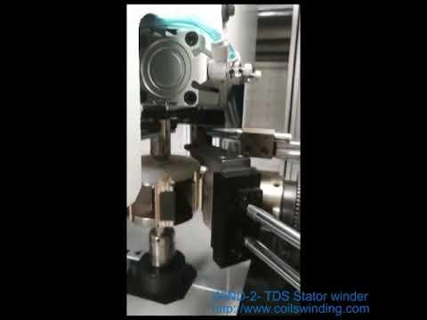 Segment stator winding machine WIND 2 TDS Shanghai Wind Automation