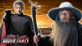 Magneto vs. Gandalf - Best Ian McKellen Movie - MOVIE FIGHTS!