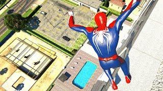 GTA 5 Epic Ragdolls/Spiderman Compilation vol.16 (GTA 5, Euphoria Physics, Fails, Funny Moments)