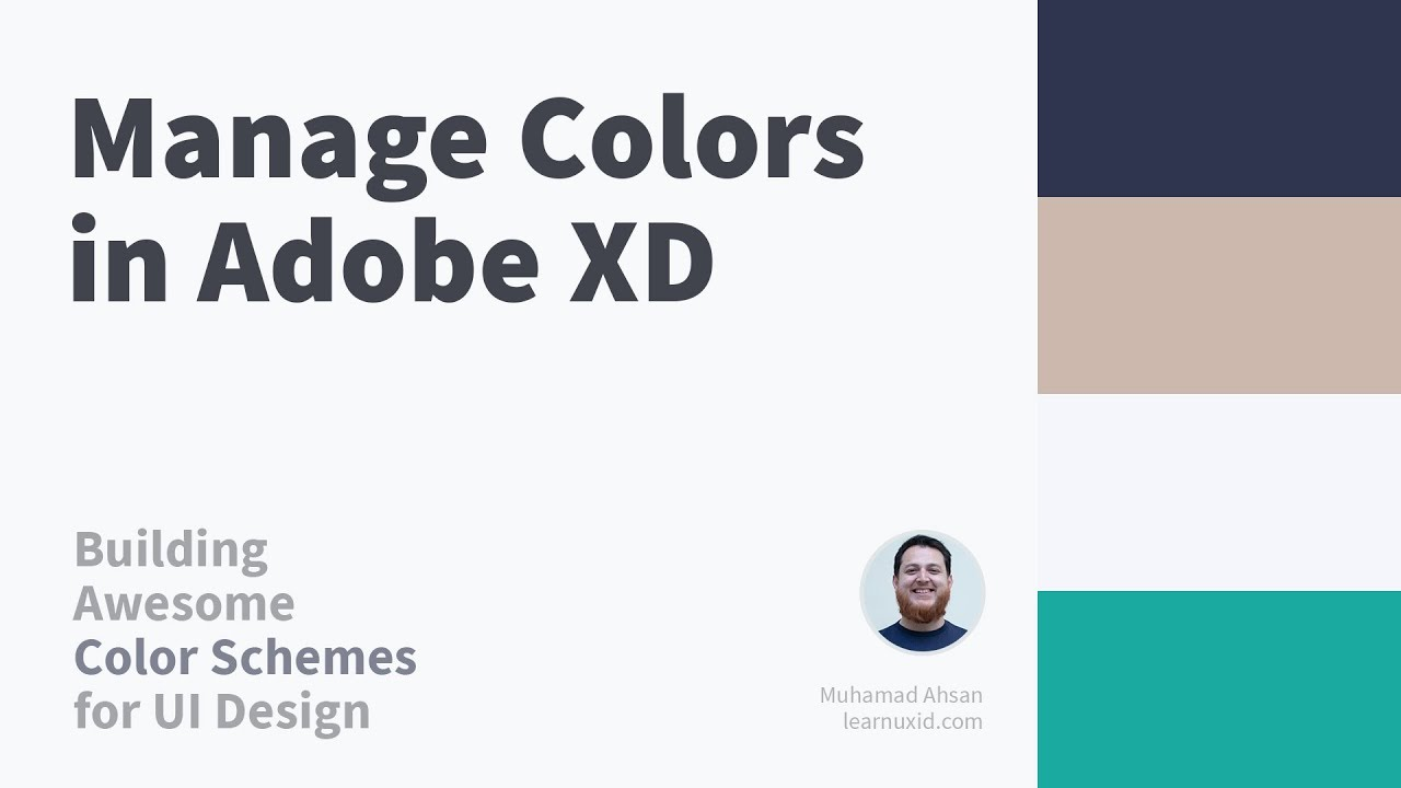 Managing Colors in Adobe XD → Building Color Schemes for ...