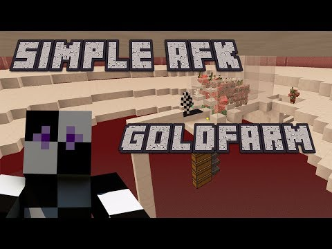 THE BEST SIMPLE AFK GOLD & XP FARM! : Minecraft 1.12/1.11 : No redstone!