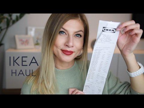 Ikea Haul 2017 + RoomTour Obývačka | Lenka