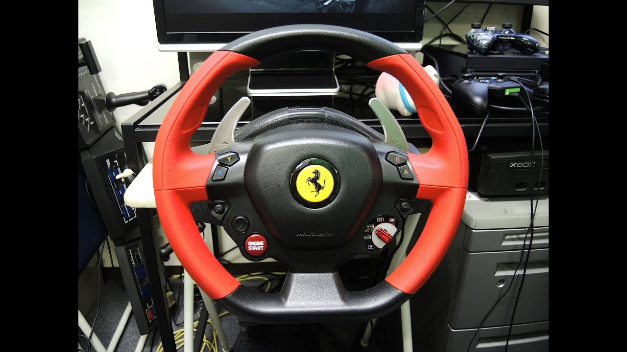 xboxone ferrari 458 spider racing wheel forza5 fh2. Black Bedroom Furniture Sets. Home Design Ideas