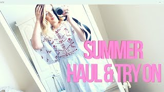 HUGE SUMMER TRY ON HAUL | ASOS, NEW LOOK, ZARA, BOOTS | LaurenMThwaites
