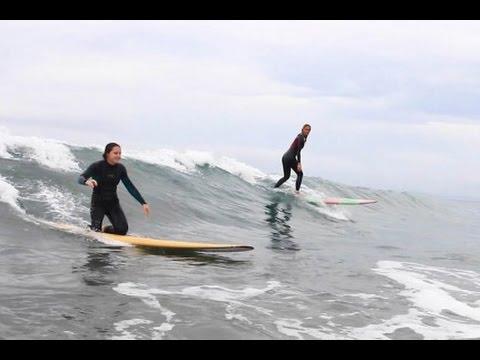 Bethany Hamilton & Leg Amputee Alyssa Cleland Share Inspiring Surf Session