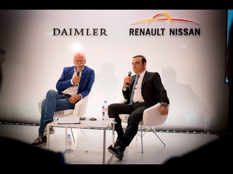 Daimler & Nissan Press Conference with Dr. Dieter Zetsche and Carlos Ghosn
