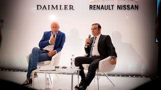 Daimler & Nissan Press Conference with Dr. Dieter Zetsche and Carlos Ghosn thumbnail