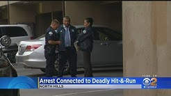 Passenger Arrested In Fiery North Hills Hit-And-Run Which Killed A Father; Suspect Still At Large
