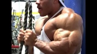 TREINO DE deltoide COM Phil Heath