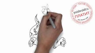 Картинки нарисованные карандашом  Как нарисовать дракошу(Как нарисовать дракона поэтапно простым карандашом за короткий промежуток времени. Видео рассказывает..., 2014-06-29T07:46:57.000Z)