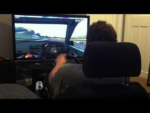 LFS Drifting with Logitech G27 + Handbrake Mod