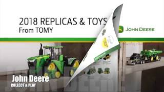 Ertl 2018 John Deere Farm Toy Catalog