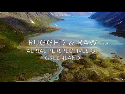 Rugged & Raw-Aerial Views of Greenland in 4k