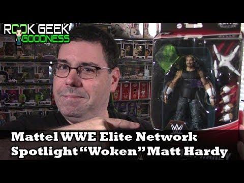 "Mattel WWE Elite Network Spotlight Target Exclusive ""Woken"" Matt Hardy"