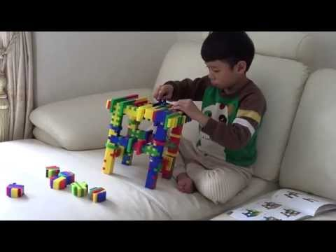 How to play building toy blocks with furniture ideas