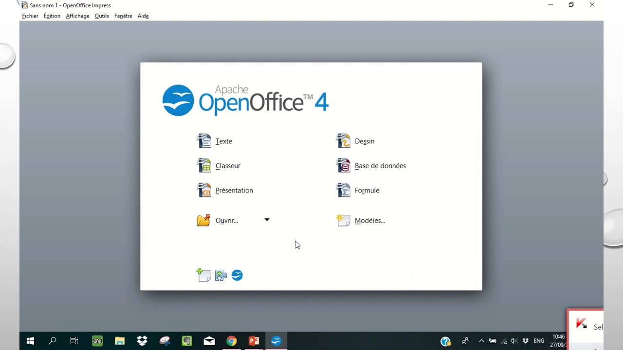 open office gratuit