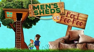 Honey Badger Radio 68: Men's Sheds vs Safe spaces