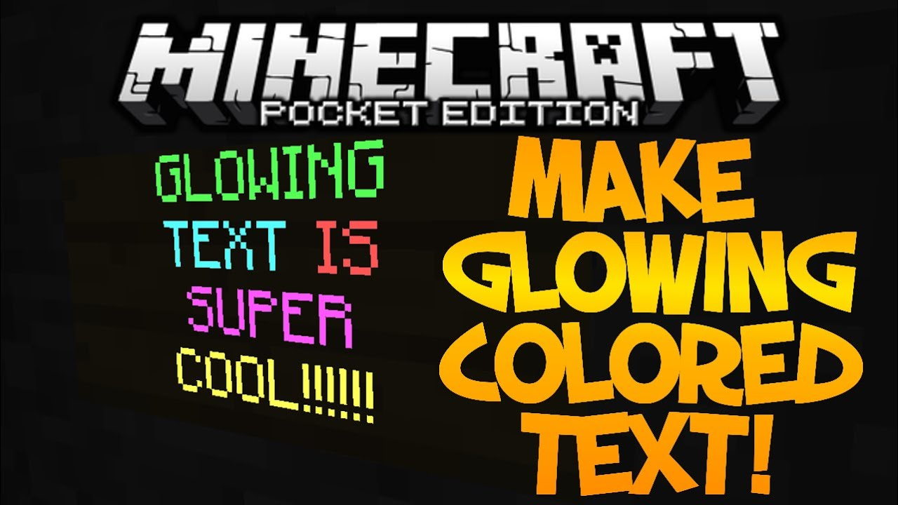 mineraft how to make colored text in chat