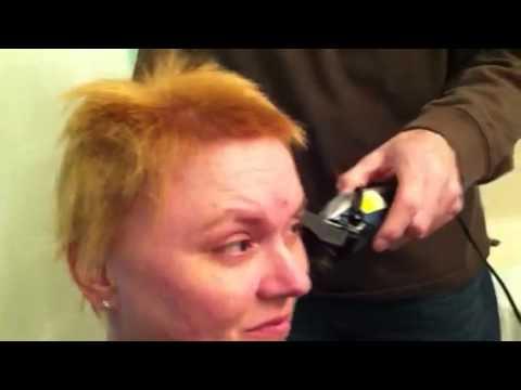 Chemo haircut