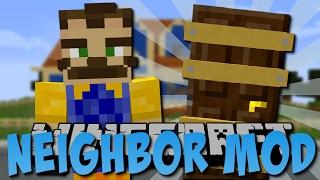 Minecraft HELLO NEIGHBOR MOD (Böser Nachbar!) [Deutsch]