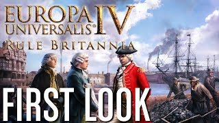 Europa Universalis IV: Rule Britannia - First Look