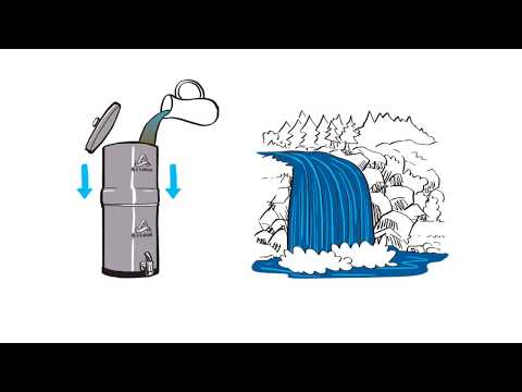 Alexapure Pro - Clean Drinking Water Powered by Gravity