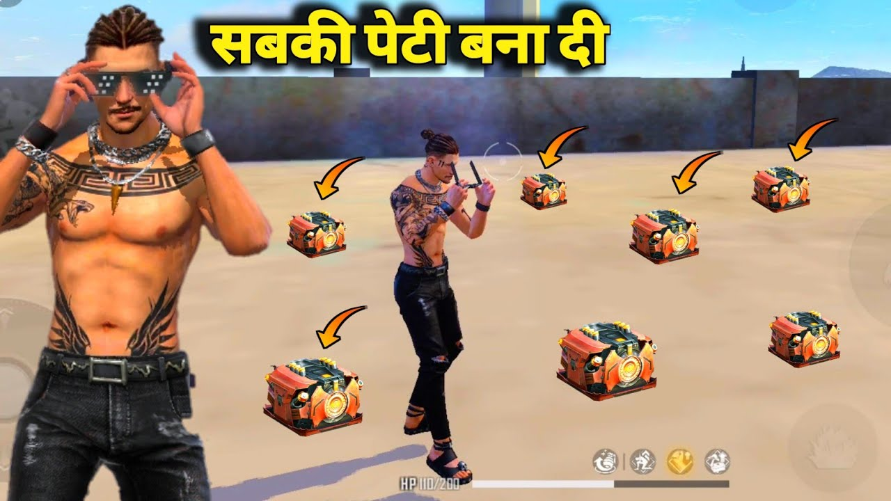 """Download 🔥New """"DIWALI EMOTE"""" Show In Factory Roof/🔥Solo Vs Duo King Of Factory Fist Fight- Garena Free Fire"""