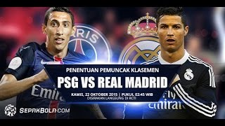 Real madrid vs paris saint-germain. champions league all goals and highlights full match 3/11/2015